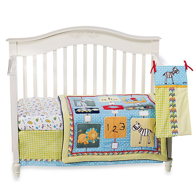 cocalo brooklyn 4 piece crib bedding set buybuy baby