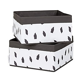 South Shore Storit® Storage Baskets in White/Grey (2-Pack)