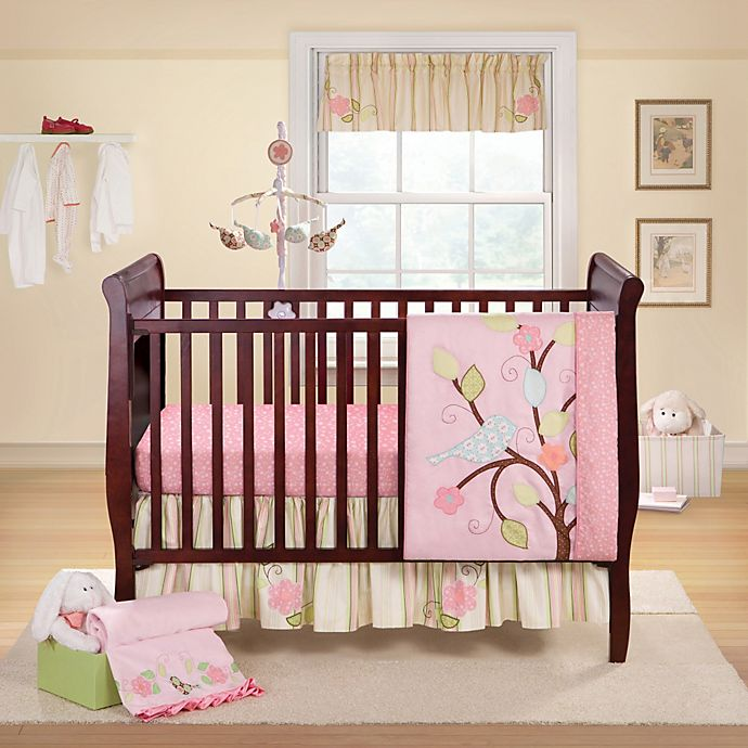 Alternate Image 1 For Bananafish Love Bird Crib Bedding Collection