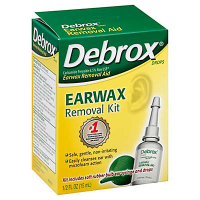 Debrox® 0.5 oz. Earwax Removal Aid Drops & Ear Bulb