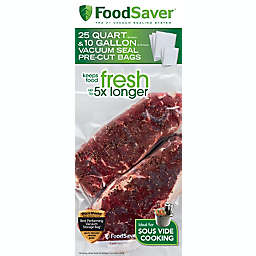 FoodSaver® 35-Count Pre-Cut Vacuum Sealing Bags