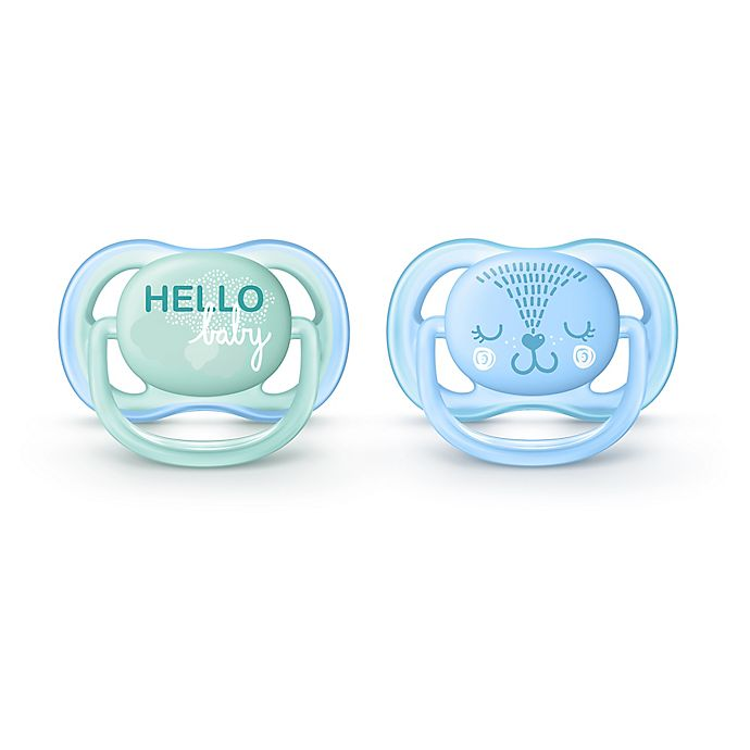 Alternate image 1 for Philips Avent 0 - 6M Ultra Air Pacifier