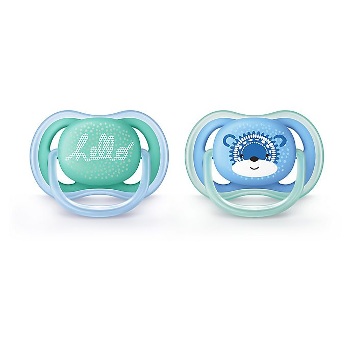 Alternate image 1 for Philips Avent 6 - 18M Ultra Air Pacifier