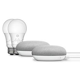 Google Home Minis and Smart Lights 2-Pack Bundle