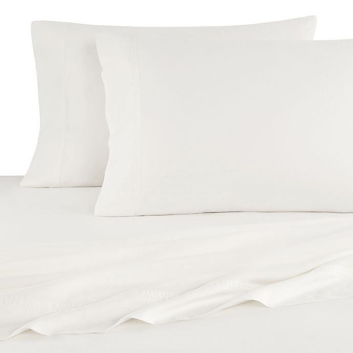 Alternate image 1 for UGG® Surfwashed 300-Thread-Count Full Sheet Set in Snow