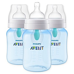 Philips Avent 3-Pack 9 fl. oz. Anti-Colic Baby Bottles with Insert