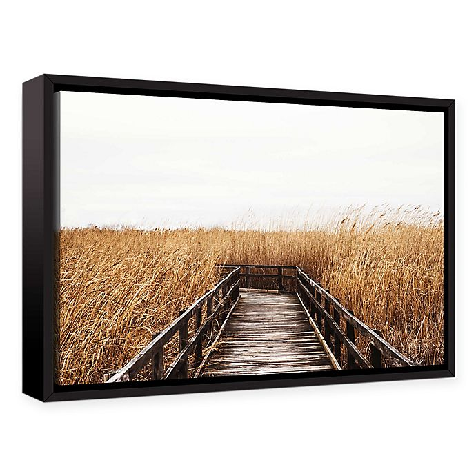 Alternate image 1 for Studio Brookview Fall Walk III 8-Inch x 12-Inch Canvas Wall Art