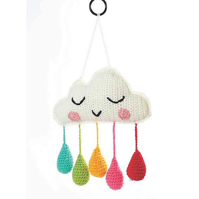 Alternate image 1 for O.B. Designs Cloud Mobile in Rainbow