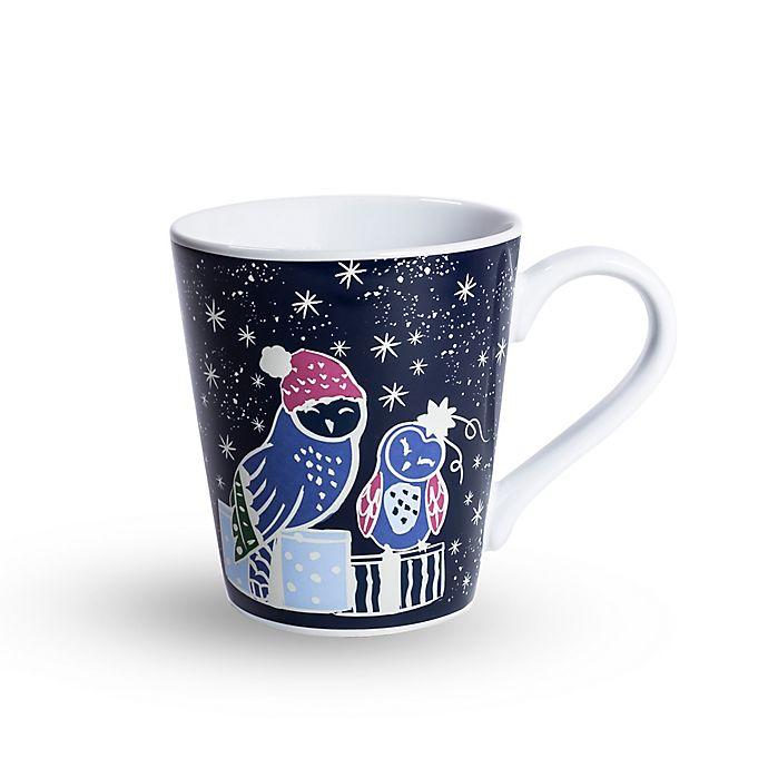 Alternate image 1 for Vera Bradley® Festive Owl Mug in Black