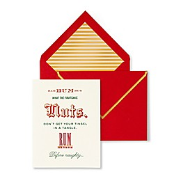 kate spade new york Bah Humbug Holiday Cards (Set of 10)