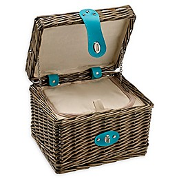 Over & Back Elizabeth Insulated Picnic Basket in Brown
