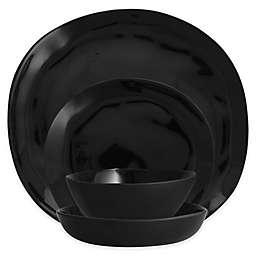 Sandia Obsidian Melamine Dinnerware Collection