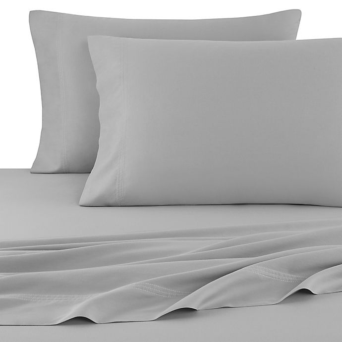 Alternate image 1 for UGG® Surfwashed 300-Thread-Count Cotton Garment Washed Pillowcases in Charcoal (Set of 2)