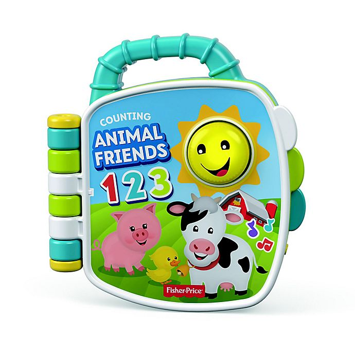 Alternate image 1 for Fisher-Price® Laugh & Learn™ Counting Animal Friends Book