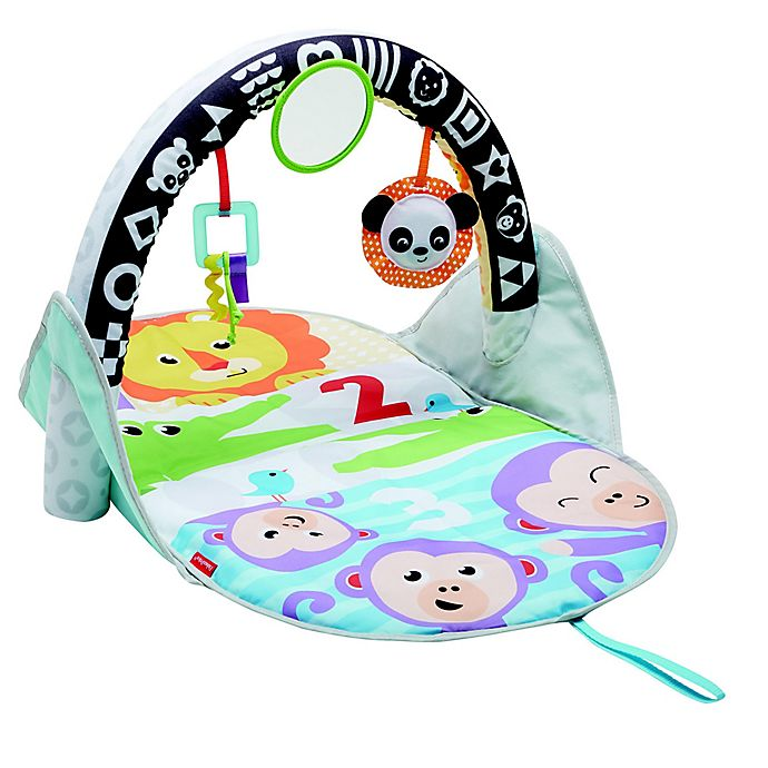 Alternate image 1 for Fisher-Price® 2-in-1 Flip & Fun Activity Gym