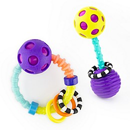 Sassy 2-Piece My First Bend & Flex Rattle Set