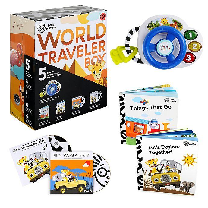 Alternate image 1 for Baby Einstein™ World Traveler Box™ Set