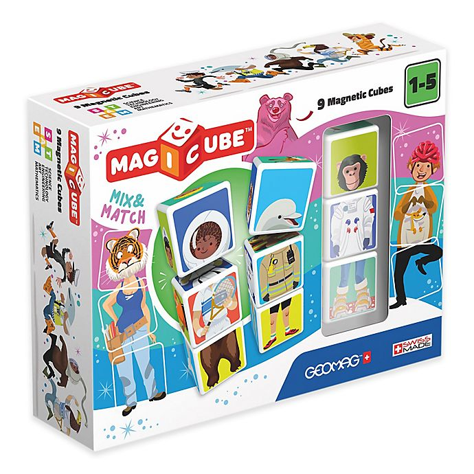 Alternate image 1 for Geomag™ Magicube™ 9-Piece Mix & Match Set