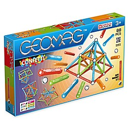 Geomag™ Confetti 88-Piece Magnetic Kit