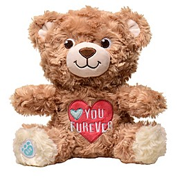 "Build-A-Bear® Heartbeat ""I Love You Forever"" Plush Bear"