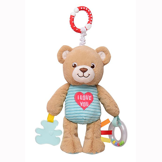 Alternate image 1 for Build-A-Bear® Bear Play and Go Activity Toy with Teether and Rattle