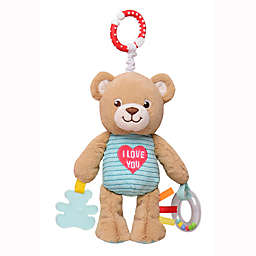 Build-A-Bear® Bear Play and Go Activity Toy with Teether and Rattle