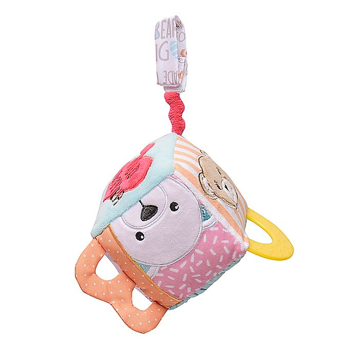 Alternate image 1 for Build-A-Bear® On-The-Go Activity Cube with Teether and Rattle