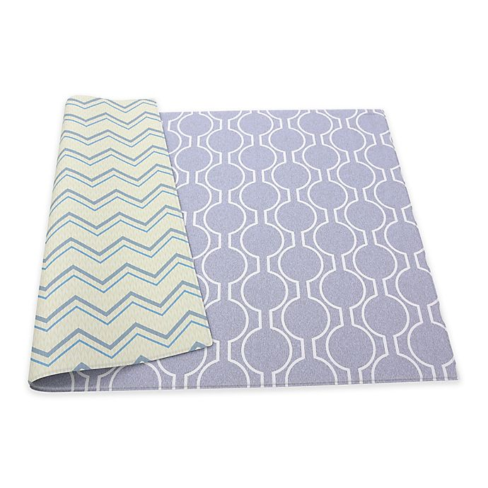 Alternate image 1 for BABY CARE™ Circle Raum Reversible Play Mat in Cream/Grey
