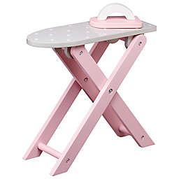 Olivia's Little World Doll Ironing Board in Grey/White