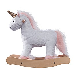 Olivia's Little World 16-Inch Doll Unicorn Rocking Horse
