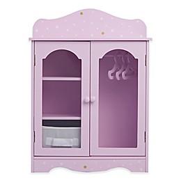 Olivia's Little World Twinkle Stars Princess 18-Inch Doll Fancy Closet in Purple