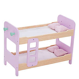 Olivia's Little World Nordic Princess Doll Bunk Bed