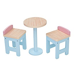 Olivia's Little World Nordic Princess Bar Table and Chair Set