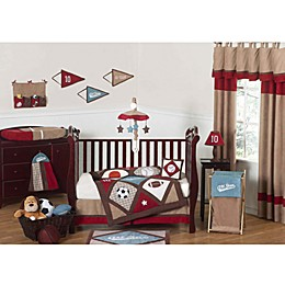 Sweet Jojo Designs All Star Sports Crib Bedding Collection