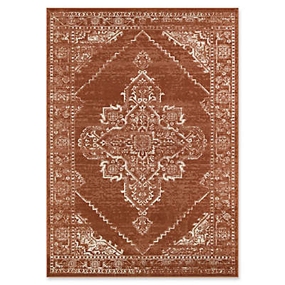 Bee & Willow™ Home Hearth Area Rug in Red