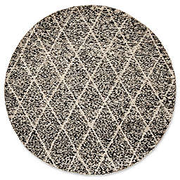 Safavieh Natura Jessica 6' Round Area Rug in Black