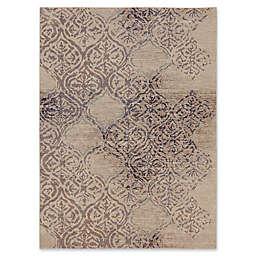 Karastan Zendaya Desert by Virginia Landley 2' x 3' Accent Rug in Brown