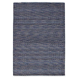 ECARPETGALLERY Luribaft Gabbeh Riz 5'3 x 7'7 Hand Knotted Area Rug in Blue