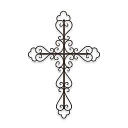 15.5-Inch x 23.3-Inch Metal Cross Wall Art