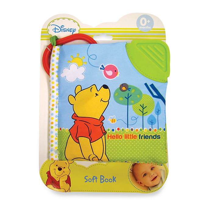 Alternate image 1 for Disney Baby® Hello Little Friends Red Shirt Pooh Soft Book