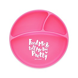 Bella Tunno™ Feed Me Silicone Wonder Plate in Pink