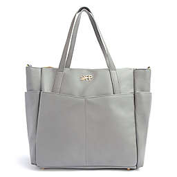 Freshly Picked Classic Carryall Diaper Bag in Stone