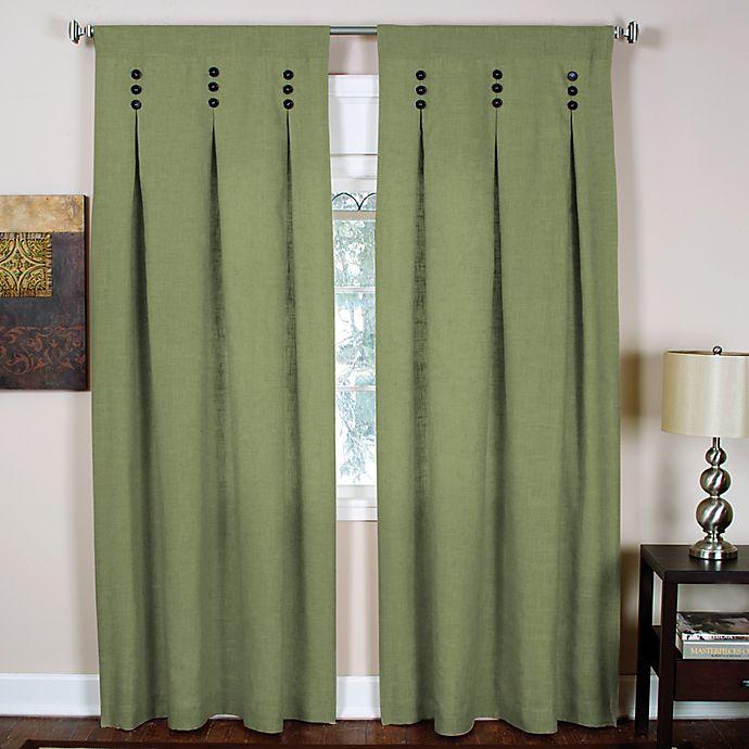Murano Back Tab Window Curtain Panels