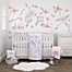 Part of the NoJo® Watercolor Deer Crib Bedding Collection