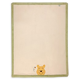 Disney® Peeking Pooh Baby Blanket in Ivory