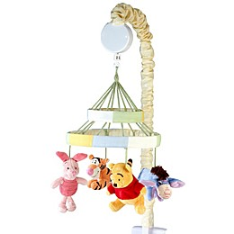 Disney® Peeking Pooh Musical Mobile in Yellow