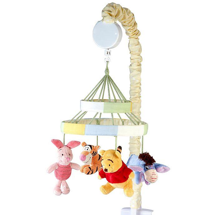 Alternate image 1 for Disney® Peeking Pooh Musical Mobile in Yellow
