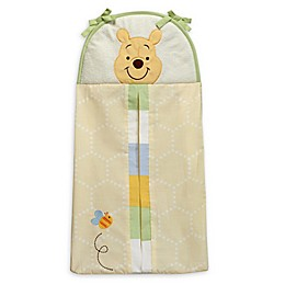 Disney® Peeking Pooh Diaper Stacker in Yellow