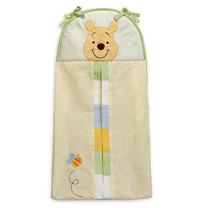 Alternate image 1 for Disney® Peeking Pooh Diaper Stacker in Yellow