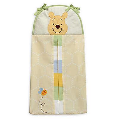 Disney® Peeking Pooh Diaper Stacker in Yellow